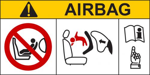 i-size airbag logo
