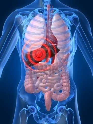 W trzeciej fazie może dochodzić do uszkodzeń organów wewnętrznych.