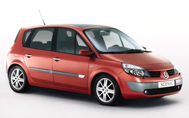 Renault Megane Scenic II jak wiele innych modeli samochodów posiada schowki podłogowe, które mogą być utrudnieniem przy montażu fotelika z nogą podpierającą.