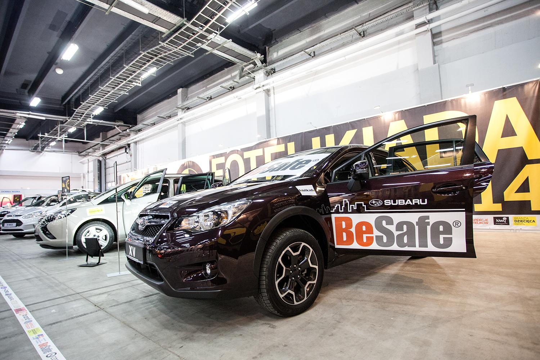 BeSafe i Subaru byli partnerami fotelik.info na Targach Czas Dziecka 2014