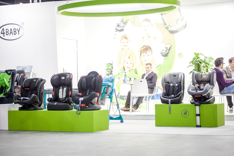 Wyroby i produkty firmy 4Baby na stanowisku targowym - Czas Dziecka 2014