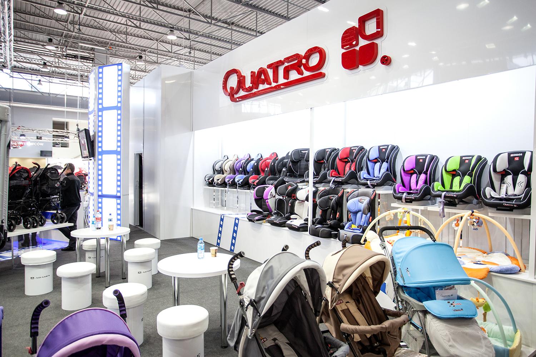 Quatro - stanowisko na Targach Czas Dziecka 2014