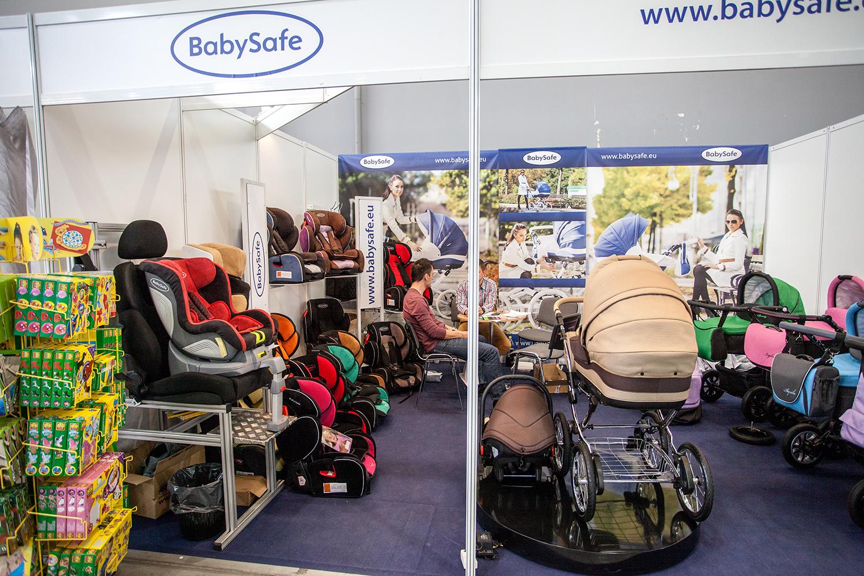 Baby Safe i stanowisko na targach Kielce podczas trwania Targów Czas Dziecka 2014