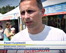 Ogólnopolskie Inspekcje Fotelików w TVN24