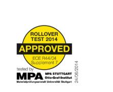 Rollover Test – Britax wprowadza nowe oznaczenia