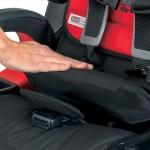 Click Tight 3: dociśnij pas i skasuj luzy mocowania za pomocą układu dźwigni