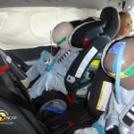 Test VOLVO V60 Hybrid z fotelikami Roemer Multitech 2