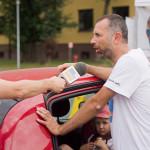 Paweł Kurpiewski udziela wywiadu dla Polsat News