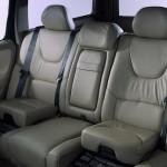 Zintegrowany fotelik w Volvo.