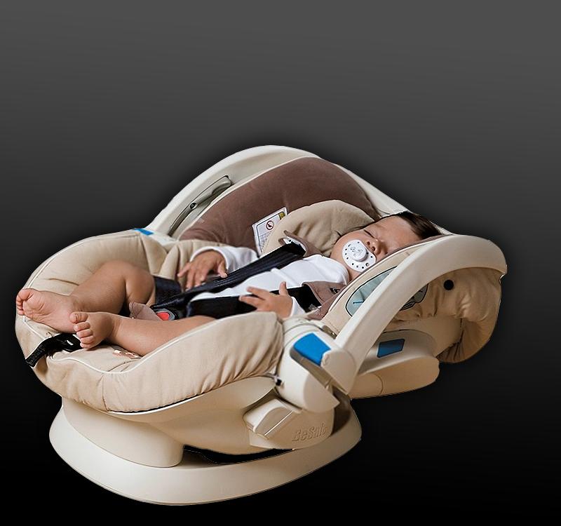 Funkcja leżenia w foteliku 0-13kg – nigdy w samochodzie!