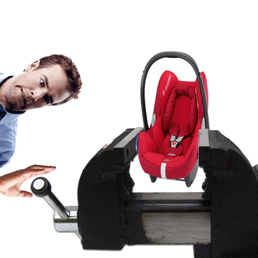 Montaż fotelika 0-13 kg z dociśnięciem fotelem? #2