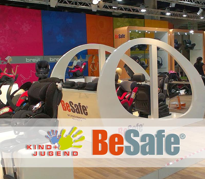 BeSafe na targach Kind und Jugend 2013