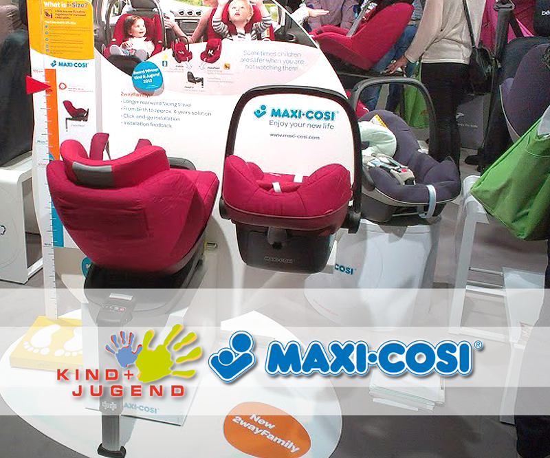 Maxi-Cosi na targach Kind und Jugend 2013