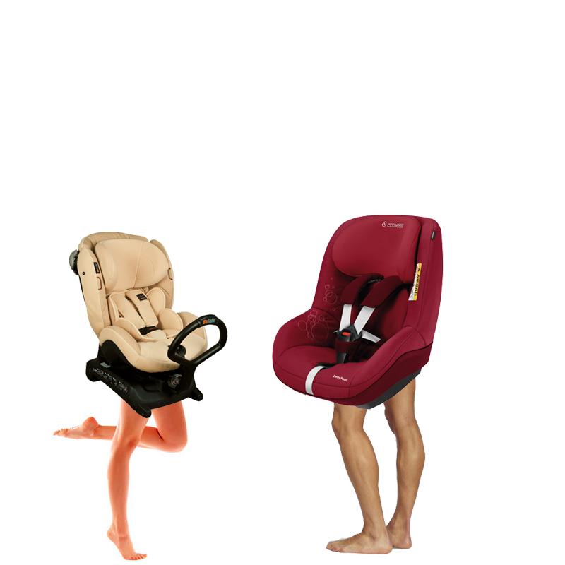 Schowki podłogowe i foteliki z nogą podpierającą
