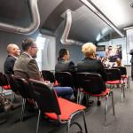 Spotkanie w kapsule E1 Targów Kielce, rozdanie nagród Fotelikiada 2014