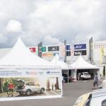 Miasteczko namiotowe Ogólnopolskie Inspekcje Fotelików 2014