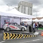 Samochód Subaru Impreza należący do Kajto na LOTOS Mistrzowie w pasach