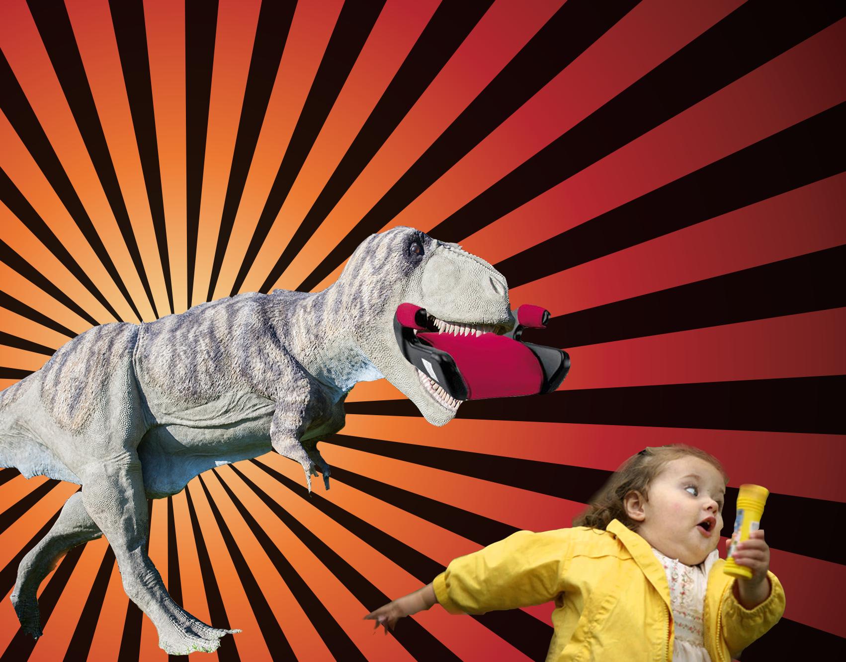 Inspekcje i dinozaury, czyli fotelikowe skamieniałości