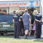 Policja jest obecna na większości imprez w trakcie kampanii Ogólnopolskie Inspekcje Fotelików.