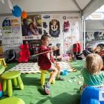 Dzieci w strefie zabaw - OIF2014