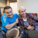 Waldemar i Magdalena Maciuszek podczas szkolenia.