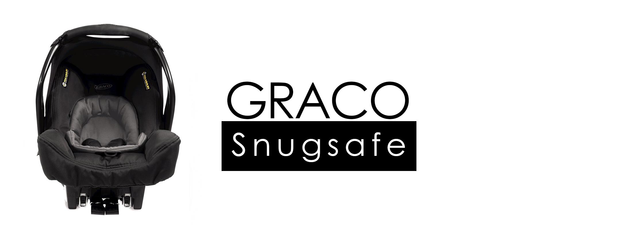 Graco SNUGSAFE – tyłem do kierunku jazdy zgodnie z normą I-Size
