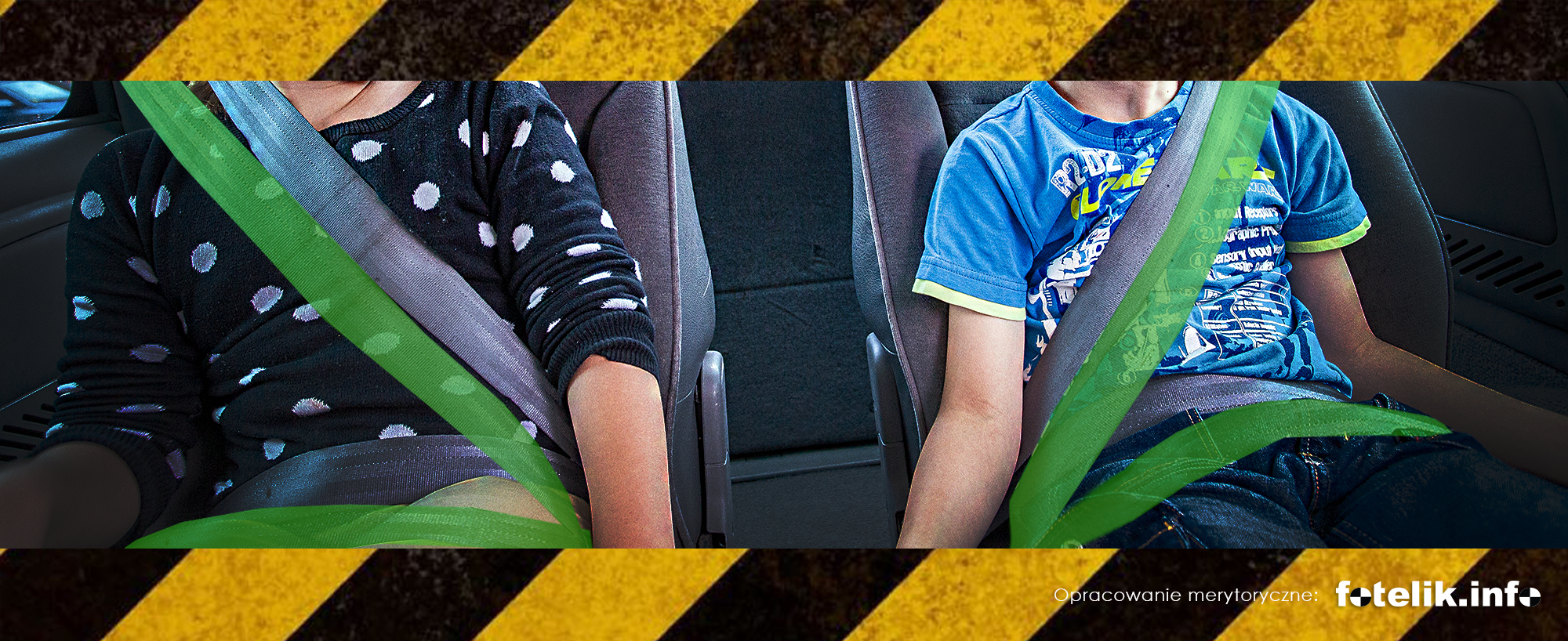 135 cm wzrostu i jazda bez fotelika to śmiertelnie niebezpieczny pomysł!