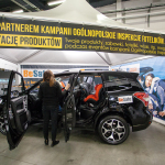 Subaru Forester na Mistrzostwach Polski - Fotelikiada 2015