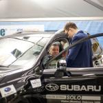 Instruktaże pasów bezpieczeństwa w samochodzie Subaru Forester XT.
