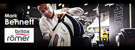 Mark Bennett – Senior Training & Technical Manager – BRITAX RÖMER – wywiad na targach Kids' Time 2015
