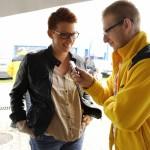 Wywiady z rodzicami są nieodłączną częścią kampanii Ogólnopolskie Inspekcje Fotelików