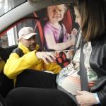 Kobiety w ciąży również powinny zapinać pasy bezpieczeństwa