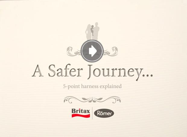 Britax-Romer o przewadze uprzęży nad fotelikami z osłoną tułowia.