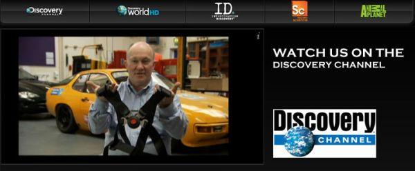Steve Watson promowany był przez Discovery Channel