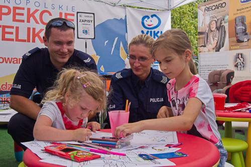 A wolne chwile Policjanci spędzali z dziećmi :)