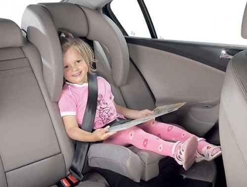 Volkswagen Passat fotelik