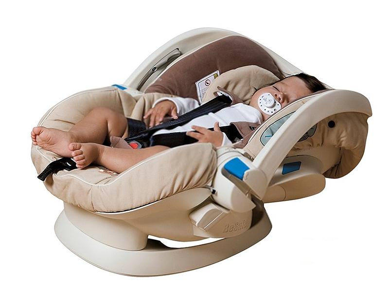 Be Safe iZi Sleep w pozycji do leżenia do używania tylko poza samochodem.