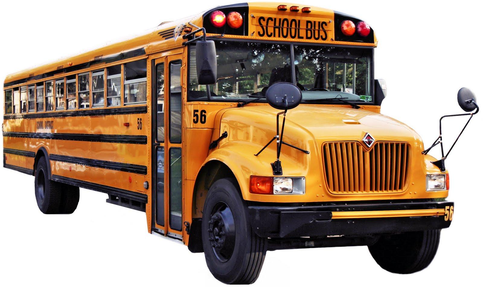 Amerykański schoolbus - potężny pojazd zapewniający podróżującym nim dzieciom maksimum bezpieczeństwa.