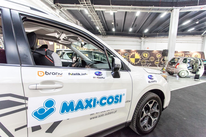 Maxi-Cosi i Subaru - partnerzy fotelik.info podczs Targów Czas Dziecka 2014