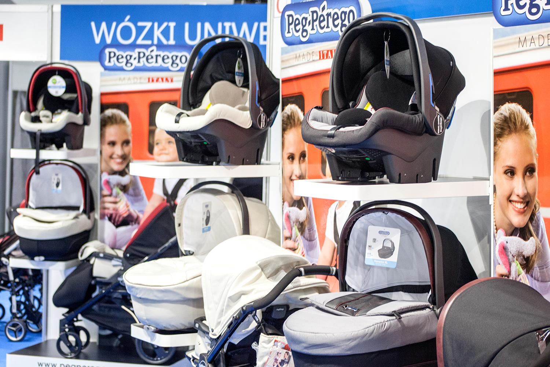 Peg-Perego - wózki i foteliki na Targach Czas Dziecka 2014