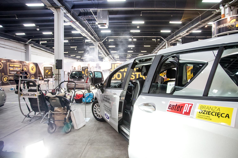 Na zdjęciu Opel Zafira Tourer udostępniony przez partnera Fotelikiady 2014