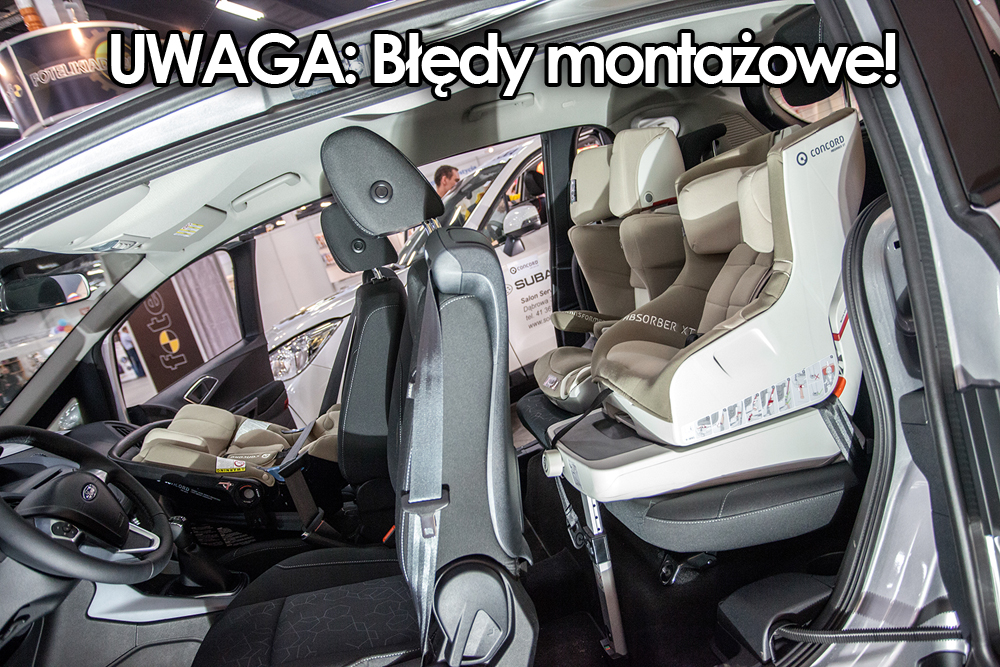 Brak słupka B w Fordzie B-Max pozwala na lepszy dostęp do wnętrza samochodu - Targi Czas Dziecka 2014