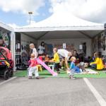 Namiot zabaw na OIF2014