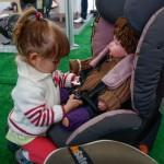 Najmłodsi również uczyli się poprawnego montażu fotelików! - LOTOS Mistrzowie w pasach