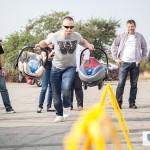 Konkurs - slalom z fotelikami, finał kampanii Ogólnopolskie Inspekcje Fotelików 2014