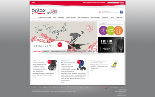 Nowe logo Britax Roemer funkcjonuje już w pełni w oficjalnych kanałach firmy.