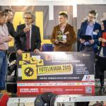 Wręczenie nagród Mistrzostw Polski Fotelikiada 2015.