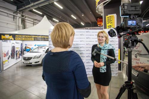 Małgorzata Gromadzka - przedstawicielka firmy AKPOL będącego wyłącznym dystrybutorem BRITAX RÖMER w Polsce. Rozmawia z Pauliną Zielińską z serwisu fotelik.info.