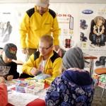 Zabawy z dziećmi to nieodłączny element kampanii Ogólnopolskie Inspekcje Fotelików