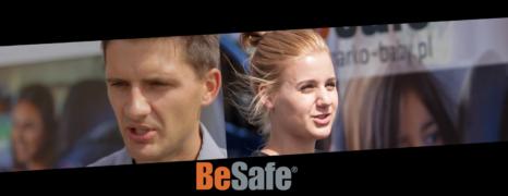 """""""Chcemy aby jak najwięcej dzieci było przewożonych bezpiecznie."""" – Hubert Wiśniewski i Katarzyna Lenart – BeSafe"""